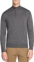 Canali 1/4 Zip Merino Sweater