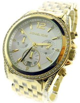 Michael Kors MK5835 Pressley Stainless Steel Crystal Quartz Watch