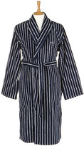 Gant Men's Pinstripe Navy Robe