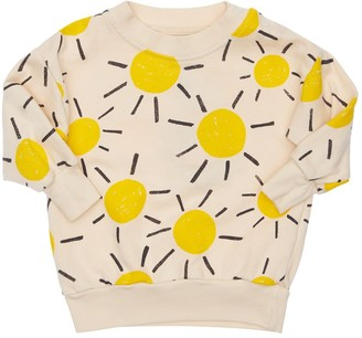 Bobo Choses Sun Print Organic Cotton Sweatshirt