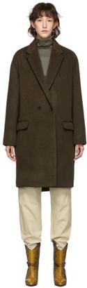 Isabel Marant Brown Wool Filipo Coat