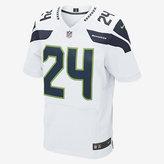 Nike NFL Seattle Seahawks Elite Jersey (Marshawn Lynch) Men's Football Jersey