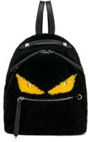 Fendi Monster Mini Shearling Backpack