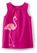 Classic Little Girls Graphic Tank Top-Ice Pop Heart