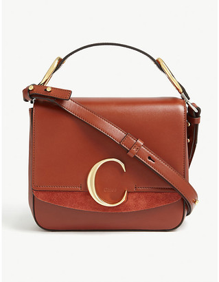 Chloé C leather small shoulder bag