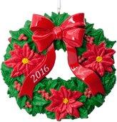 Hallmark 2016 Wreath Ornament, New in Box!