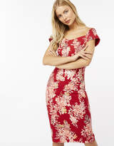 Monsoon Everly Print Bardot Dress