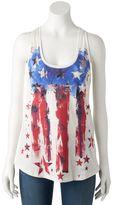 Rock & Republic Women's Embellished Stars & Stripes Tank