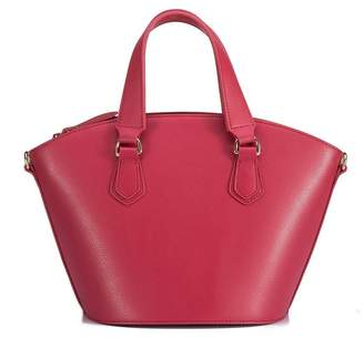 Vicenzo Leather Celeste Top Handle Leather Crossbody Bag