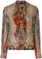 Etro embroidered neck