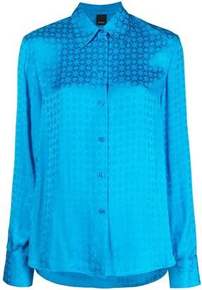 Pinko Geometric Jacquard Shirt