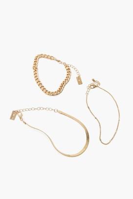 Forever 21 Chain Bracelet Set