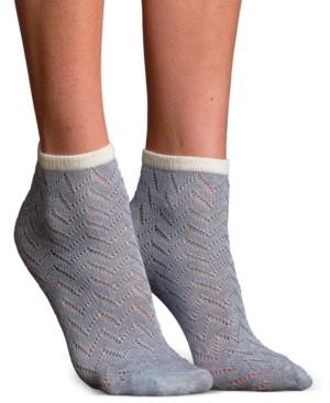 Lemon Women's Mila Pointelle Modal Anklet Socks