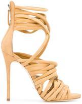Giuseppe Zanotti Design Runway sandals - women - Leather/Suede - 37.5