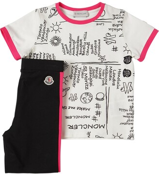 Moncler Cotton Jersey T-shirt & Leggings