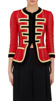 Givenchy Women's Military-Inspired Slim Jacket-RED