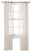 Threshold Linen Grommet Sheer Curtain Panel