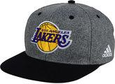 adidas Los Angeles Lakers Fog Snapback Cap