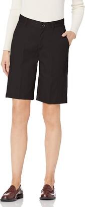Classroom School Uniforms Womens Junior Stretch Flat Front Short