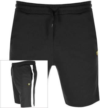 Lyle & Scott Logo Sweat Shorts Black