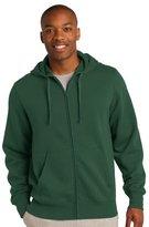 Sport-Tek Men's Big And Tall Durable Full-Zip Hooded Sweatshirt - TST258