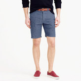 J.Crew Wallace & Barnes cotton-hemp selvedge denim short