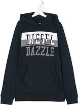 Diesel Teen Sidev hoodie - kids - Cotton - 14 yrs