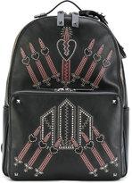 Valentino Garavani Valentino Love Blade backpack - men - Calf Leather/metal - One Size