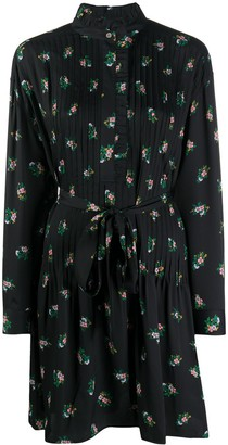 Tory Burch Belted Floral Shift Dress