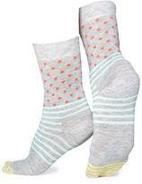 Happy Socks Dot and Stripes Crew Socks