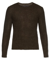 Gucci Crew-neck Wool-blend Knit Sweater
