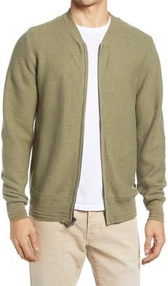 Schott NYC Cotton Sweater Jacket