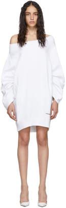 DSQUARED2 White Sweater Dress