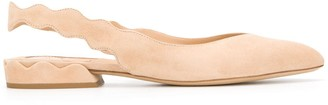 Chloé Laurena slingback ballerinas