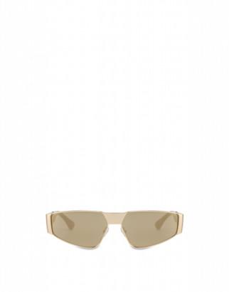 Moschino Metal Sunglasses Woman Gold Size Single Size