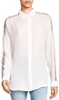 The Kooples Lace-Detail Shirt