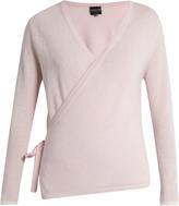 PEPPER & MAYNE Ballet-wrap cashmere cardigan