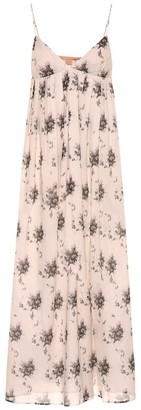 Brock Collection Ornella floral cotton midi dress