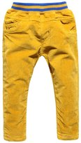 XiaoYouYu Little Boy's Fashion Soft Velvet Trousers US Size 8