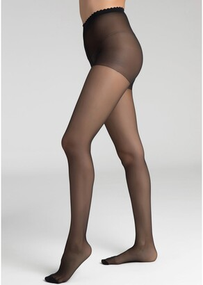 Dim Body Touch 20 Denier Sheer Seamless Tights, Made in France