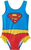 Toddler Girl DC Comics Superman One-Piece Swimsuit