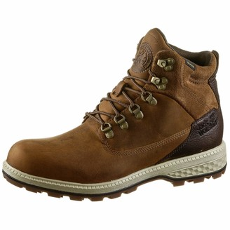 Jack Wolfskin Men's Jack Texapore MID Waterproof Oiled Leather Boot Combat