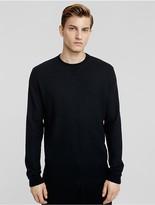 Calvin Klein Collection Boiled Cashmere Sweatshirt