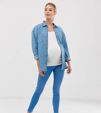 New Look Maternity jeggings in light blue