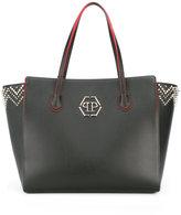 Philipp Plein WBA0044PLE006N 02K BLACK/NICKEL ??? Leather/Leather