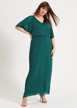 Phase Eight Hera Beaded Maxi Dress
