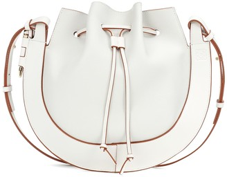 Loewe Horseshoe Small leather shoulder bag