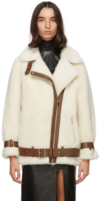 Stand Studio Off-White Wool Colleen Jacket