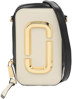 Marc Jacobs The Hot Shot Leather Shoulder Bag