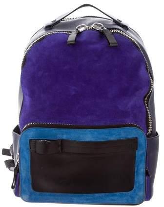 Calvin Klein Collection Engineered Zip Backpack
